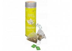 English Tea Shop Bio Citronová tráva, Zázvor a Citrusy 15 kusů bioodbouratelných pyramidek čaje v recyklovatelné plechové dóze 30 g