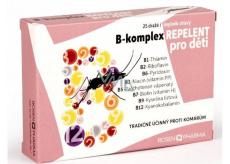 Rosen B-komplex REPELENT pro děti 25 tablet doplněk stravy