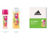 Adidas Get Ready! for Her parfémovaný deodorant sklo pro ženy 75 ml + sprchový gel 250 ml, kosmetická sada