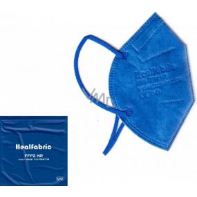 Healfabric Respirátor ústní ochranný 5-vrstvý FFP2 obličejová maska tmavě modrá 1 kus
