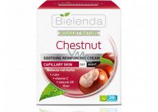 Bielenda Bouquet Nature Chestnut krém na rozšířené cévky s kaštanem denní/noční 50 ml