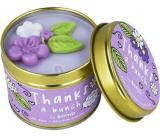 Bomb Cosmetics Děkuji ti - Thanks A Bunch vonná přírodní, ručně vyrobena svíčka v plechové dóze hoří až 35 hodin