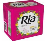 Ria Ultra Normal Plus hygienické vložky s křidélky 10 kusů