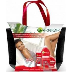 Garnier Péče o tělotělové mléko 250 ml + krém 100 ml,200 ml + balzám 4,7 ml + taška, kosmetická sada