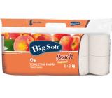 Big Soft Peach Broskev parfémovaný toaletní papír 2 vrstvý 10 rolí x 200 útržků