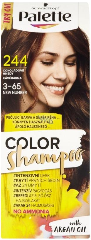 Schwarzkopf Palette Color Shampoo tónovací barva na vlasy 244 ...