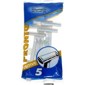 Wilkinson Pronto Sensitive jednorázový holicí strojek 5 kusů