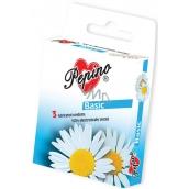 Pepino Basic kondom z přírodního latexu 3 kusy