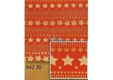 Nekupto Vánoční balicí papír Hvězdy 0,7 x 1,5 m BJ 842 30