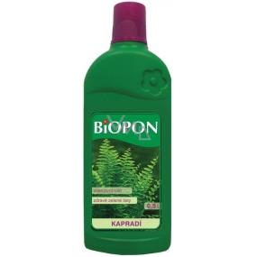 Biopon Kapradiny tekuté minerální hnojivo 500 ml