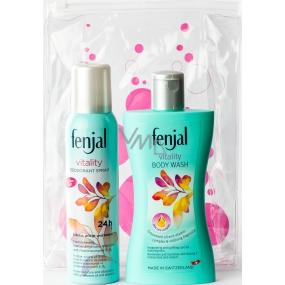Fenjal Vitality sprchový krém 200 ml + deodorant sprej pro ženy 150 ml, kosmetická sada