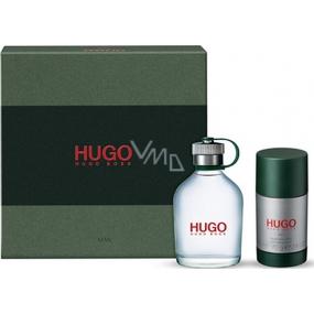 Hugo Boss Hugo Man toaletní voda pro muže 75 ml + deodorant stick 75 ml, dárková sada