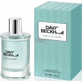 David Beckham Aqua Classic toaletní voda pro muže 60 ml