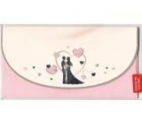 Nekupto Přání k svatbě Obálka na peníze 3221 K