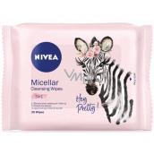 Nivea 3v1 Micelární čisticí pleťové ubrousky pro všechny typy pleti 25 kusů