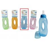 First Steps Slza 0+ kojenecká láhev modrá 250 ml