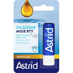 Astrid Jojobový olej intenzivně pečující balzám na rty 4,8 g