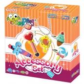 Jumping Clay Ozdobné doplňky sada modelovací hmoty pro děti 5+