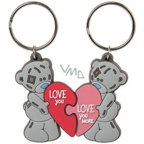 Me to You Klíčenka dvoudílná Love 3,5 cm x 8 cm
