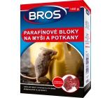 Bros Na myši a potkany parafínové bloky 100 g