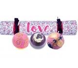 Bomb Cosmetics Láska mix balistiků 3 x 160 g, kosmetická sada