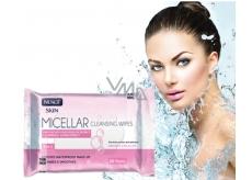 Nuagé Micellar Aloe Vera, vitamín E & extrakt z heřmánku 3v1 micelární vlhčené ubrousky 25 kusů