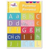 Ditipo Písmenka zábavné učení pexeso seznámení se s tiskacími písmeny 27 párů obrázků 297 x 222 mm