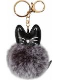 Albi Chlupatá klíčenka Kočka 8 cm
