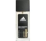 Adidas Victory League parfémovaný deodorant sklo pro muže 75 ml