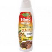 Bione Cosmetics Arganový olej & Karité výživné tělové mléko pro všechny typy pokožky 500 ml