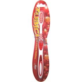 Nekupto Zubíci měkký zubní kartáček červený 1 kus