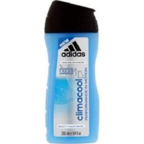 Adidas Climacool 3v1 sprchový gel na tělo, tvář a vlasy pro muže 250 ml
