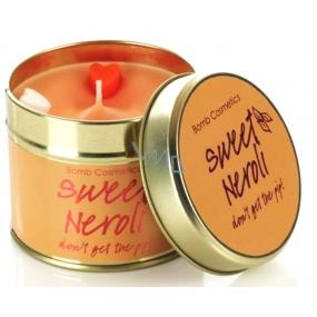 Bomb Cosmetics Neroli - Sweet Neroli Vonná přírodní, ručně vyrobena svíčka v plechové dóze hoří až 35 hodin
