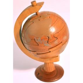 Albi Hlavolam Glóbus dřevěný hlavolam na cesty kolem světa