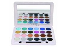 Eden BC Artists Palette paleta 24 očních stínů kosmetická kazeta 96330