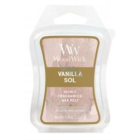 WoodWick Vanilla Sol - Vanilka a mořská sůl Artisan vonný vosk do aromalampy 22.7 g