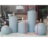 Lima Ice pastel svíčka světle modrá válec 80 x 200 mm 1 kus