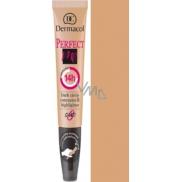 Dermacol Perfect Me Concealer zdokonalující korektor a rozjasňovač 03 Sand 7 ml