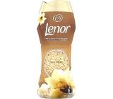 Lenor Gold Orchid vůně vanilky, mimózy, růží a broskví vonné perličky do bubnu pračky 210 g
