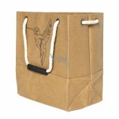 Albi Eko taška vyrobené z pratelného papíru s uchem - kolibřík 30 cm x 34 cm x 18 cm