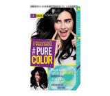 Schwarzkopf Pure Color Washout barva na vlasy 1.0 Havraní černá 60 ml