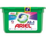 Ariel All-in-1 Pods Color gelové kapsle na barevné prádlo 13 kusů 309,4 g
