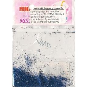 Angel Ozdoby na nehty prášek tmavě modrý 1 balení