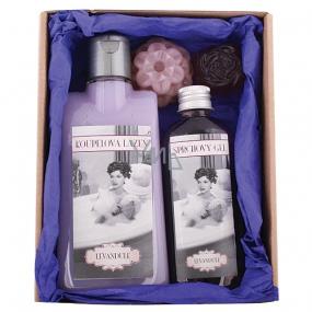 Bohemia Ladies Spa pro dámy lázeň 200 ml + sprchový gel 100 ml + mýdlo 2 kusy, kosmetická sada