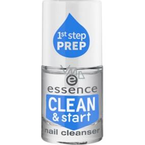 Essence Clean & Start čistící přípravek na nehty 8 ml