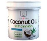 Herbamedicus Kokosový olej s konopím ne tělo i pleť pro suchou až atopickou pokožku 250 ml