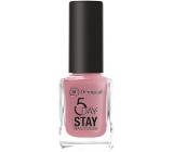 Dermacol 5 Day Stay Dlouhotrvající lak na nehty 09 Candy Shop 11 ml