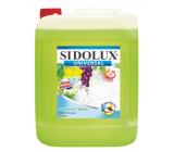Sidolux Universal Soda Zelené hrozny mycí prostředek na všechny omyvatelné povrchy a podlahy 5 l