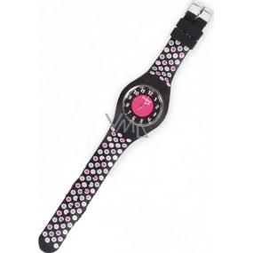 Albi Original Silikonové hodinky Puntíky