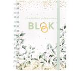 Albi Blok Svatební plánovací kroužkový 80 stran